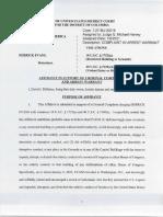 Derrick Evans Criminal Complaint