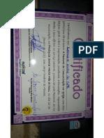 certificado comunicação