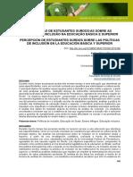 25.5. Revista, Educ., Arte e Inc.,-PERCEPÇÃO DE ESTUDANTES SURDOS