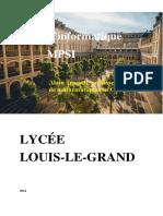 Lycée Louis Le Grand – Couverture