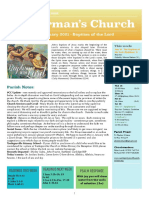 st germans newsletter - 10 jan 2021  baptism of the lord