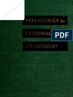 Psychology of  personal adjustment