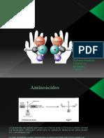 Aminoácidos Actividad N° 1 de Bioquimica