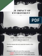 Chapter Four External environment