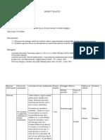 Proiect de lecție (clasa a X-a II)