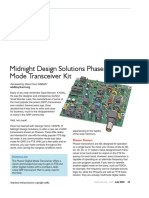 2020-07 QST Product Review Midnight Design Solutions Phaser Digital Mode Transceiver Kit