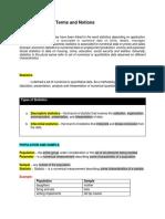 Statistical Analysis - MODULES 1,2 & 3