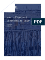 (2019)Informal Vendors in Johannesburg, South Africa