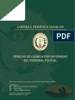 CARTILLA 69 - DERECHO A LICENCIA POR PATERNIDAD