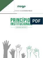 Mege - Princípios Institucionais da Defensoria Pública