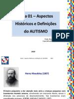 AULA 1 - ASPECTOS HISTORICOS E DEFINICOES DO TEA - Turma B Santarem
