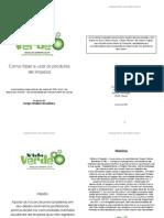 Vida Verde TURI bookletPortuguese