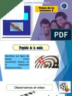 PPT 05 RELACIONES INTERPERSONALES - TEORIA DEL APEGO 02