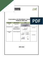 Plan Anual Agroideas de Sst 2020