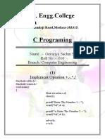 SG Great C programes