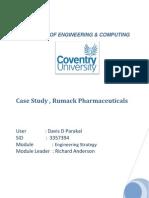 analysis  on Rumack pharmaceuticals