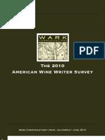 2010WineWriterSurvey