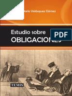 Hernán Darío Velásquez Gómez. Estudio sobre OBLIGACIONES TEMIS