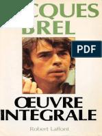 Jacques Brel - Oeuvre Integrale.pdf