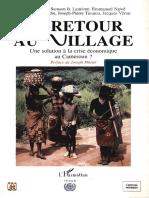 RETOUR AU VILLAGE