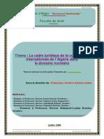 Le_cadre_juridique_de_la_coopération_internationale_de_l_algerie