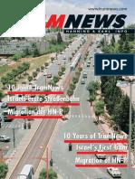 TRAMNEWS. 10 Jahre TramNews Israels erste Straßenbahn Migration der HN-P. 10 Years of TramNews Israel s First Tram Migration of HN-P