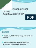 Stat 1.  reviewkonspdsr