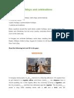 holidays and celebrations worksheet.docx