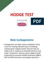 Hodge Test