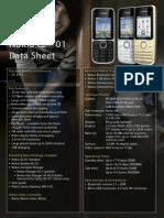 Nokia C2-01 Data Sheet