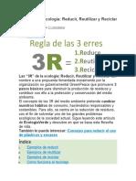 Las 3R de la ecología + VIDEO.docx