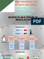 Educación y salud - COVID-19
