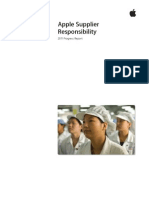 Apple Supplier Responsibility 2011 Progress Report