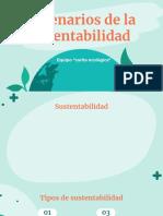 Escenarios de la sustentabilidad-presentacion