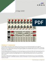 APEX3000 High Density Universal Edge QAM Data Sheet(1)
