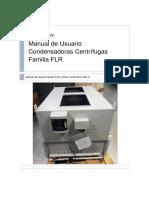 Condensadoras FLR - Manual Usuario