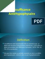 Insuffisance antéhypophysaire.pptx · version 1