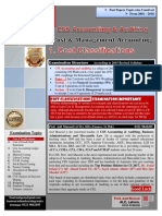 1 Cost Concepts & Classifications