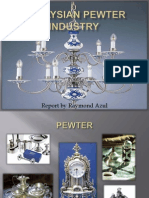 Malaysian Pewter Industry 2