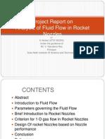 Fluid Flow in Rocket Nozzles