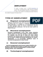 unemployment word document