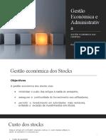 Gestão económica e classificação dos stocks