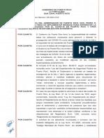 Las medidas para enfrentar el COVID-19 en Puerto Rico