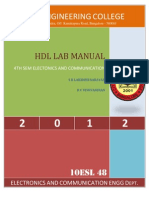 HDL Manual 2012 4th Sem 10ESL48