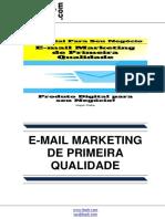 e Mail Marketing de Primeira Qualidade