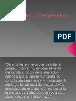 NUTRICIÓN PARENTERAL RN.ppt