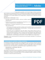 Cobertura de Reembolso Rehabilitacion, Fisioterapia y Podologia 2020