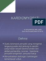 KARDIOMYOPATI - kuliah dr.erlina