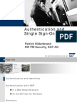 Authentication and Single Sign-On