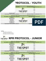 RPR protocol warm up